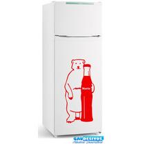 Adesivos Decorativos De Parede, Geladeira Urso Personalizado