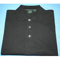 Camisa Polo Hugo Boss Golf Preta Tam. P