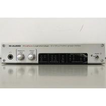 Placa De Som M-audio Profire Lightbridge 34/36 Canais