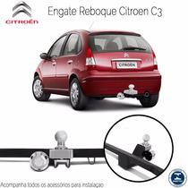 Engate Reboque Carreta Citroen C3 Até 2012 Todos 500 Kg