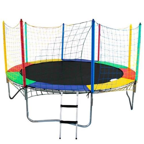 comprar cama el stica pula pula trampolim 3 66 m colorida