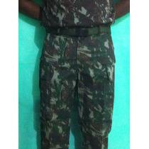 Eb334 Calça Camuflada (padrão Qgex) - Tam. P
