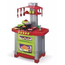 Cozinha Fogão Brinquedo Infantil Com Luz Som E Água Criança