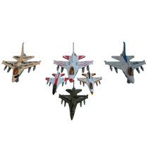 Miniatura De Avião Caça A Jato F-16 Fighting Falcon 1/130