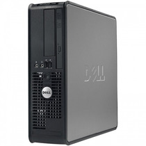 Pc/ Cpu Desktop Dell Optiplex 760 Core2duo 4gb 160gb+ Brinde