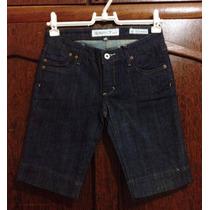 Bermuda Jeans Feminina Importada Tamanho 36 Nova!