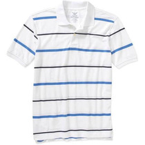 Camiseta Polo Importada 5xl - 5g - Ggggg Faded Glory Usa