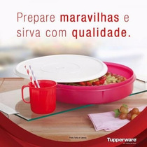 Porta Tudo Tupperware 3,7l Vermelho