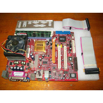 A020-kit Pcchips M863g Athlon 1,15ghz Ddr333 1gb Esp.cabos