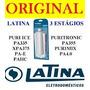 Refil Filtro De Água Latina ( Pa355 ) Original Com Garantia