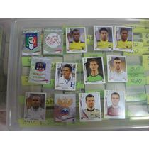 Lote 250 Figurinhas Sem Repetição Álbum Copa Do Mundo 2014