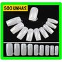 500 Unid Unha Postiça Para Acrigel Acrilico Gel Nail Tips