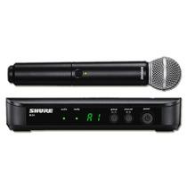 Microfone Sem Fio Shure Blx24br/sm58 - 014248