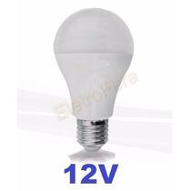 Lampada Led Economica 12v E27 Leds 7w Branca Fria Pesca