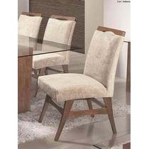 Cadeira P/mesa De Jantar Arezzo Paris Kit C/2- Móveis Rafana