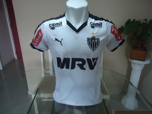 Camisa Atlético Mineiro Puma   Mrv 2015   9 - ( 177 ) 1ee2ced3f2ebe