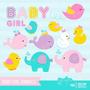Kit Scrapbook Digital Animais Baby Imagens Clipart Cod11