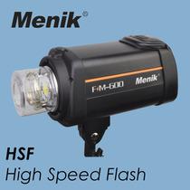 Flash Estudio Menik Fm600 600w Superior Ao Mako Atek