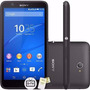 Celular Sony Xperia E4 Dual E2124 Preto Quadcore 8gb 1gb Ram