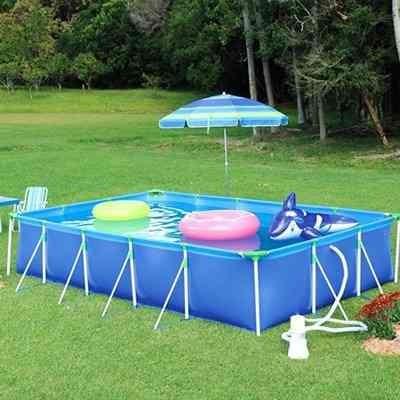 Kit piscina mor premium 10000 litros c kit limpeza for Piscina 10000 litros