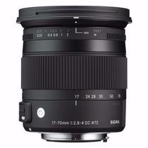 Sigma 17-70mm F2.8-4 Dc Macro Contemporary P/ Nikon