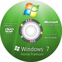 Formatar Pc Dvd Wind©ws 7 Homepremium + Cd Extra + Ativado