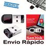 Pen Drive 16gb Sandisk Ultra Mini Micro Cruzer Fit Nano 2