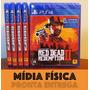 Red Dead Redemption 2 Ps4 Mídia Física Lacrado