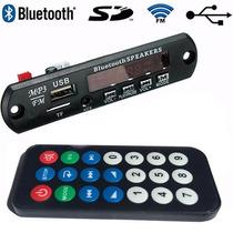 Placa Decodificador Caixa Ativa Ecopower Usb Fm Bluetooth Us