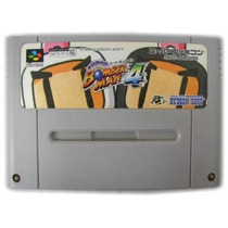 Super Bomberman 4 Original Super Nintendo Zerada!
