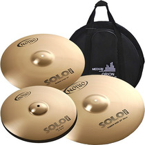 Kit De Pratos Orion Solo Pro Medium C/ Bag Grátis