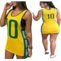 Blusa Blusão Vestido Regatão Brasil Copa 2018 Feminina Blog
