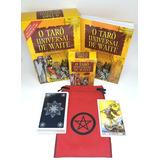 Tarô Universal De Waite Livro Tarot Brinde Estojo