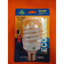 Lâmpada Espiral Fluorescente Economica 20w 127v 6400k