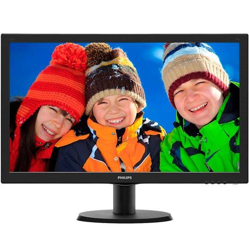 Monitor Philips Lcd Tela De 23.6 ´ Full Hd, 8ms, Vga / dvi / hdmi
