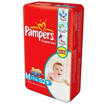 Fralda Pampers Supersec Hiper M