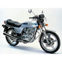 Manual De Serviço Moto Honda - Cb 400 N - Em Pdf Em Alemão