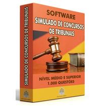 Simulado Online Tribunais 2016