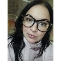 770b4c017 Armação Óculos De Grau Feminino Masculino Grande Preto à venda em ...