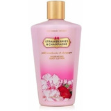 Creme Vitórias Secret Strawberries &champagne De 250ml