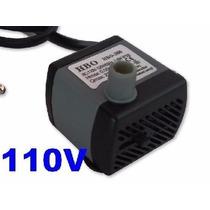 Motor Bomba Submersa Para Fonte De Água Ou Aquário 110v