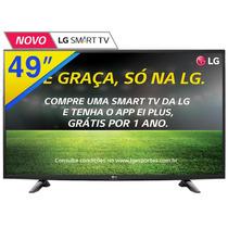 Smart Tv Led 49 Lg Full Hd Com Wifi , Hdmi Usb 49lh5700