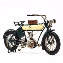 Miniatura Moto Antiga Metal