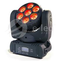 Mini Moving Head Beam 7x30w Rgbw Quadri Led Cree Dmx 200w