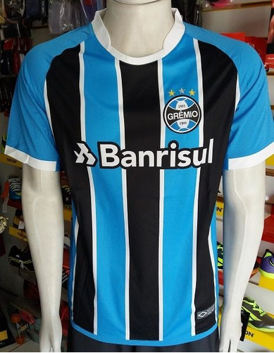 f8548e090b376 Camisa Grêmio 1 2018 S nº Autenthic Frete Grátis