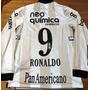 Camisa Corinthians Centenário Modelo Jogo Autografada Todos