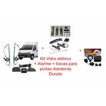 Kit Ducato - Vidro Elétrico + Alarme + Travas Dianteiras