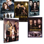 A Saga Crepúsculo Coleção Completa - 6 Dvds Original Lacrado