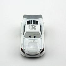 Disney Cars Mcqueen #95 Branco Apple Original Mattel Loose