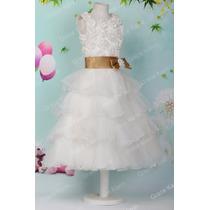 Vestido De Casamento Infantil Daminha De Honra Casamento